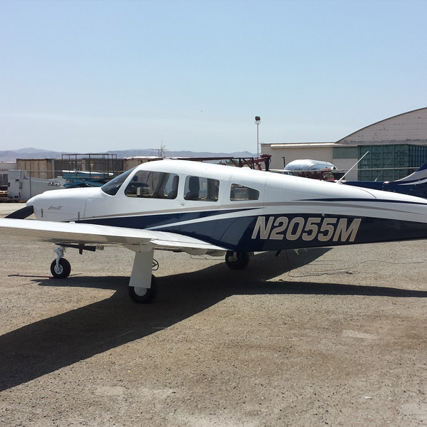 Piper Arrow III Exterior Refurbishment