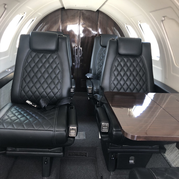 Cessna 550 Interior Refurbishment