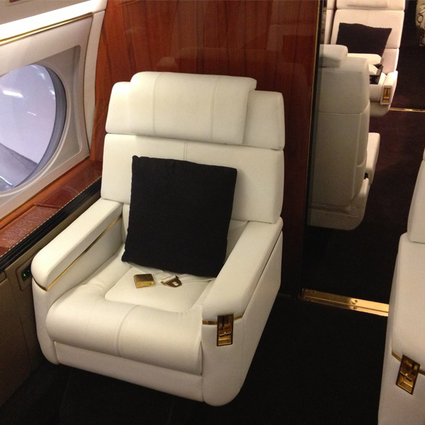 Gulfstream G4 Interior Refurbishment