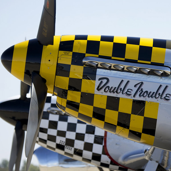 "North American P-51D ""Double Trouble Two"" Paint Job"